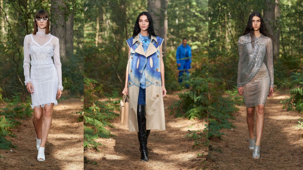 Burberry takes us back to nature with its London Fashion Week SS21 show