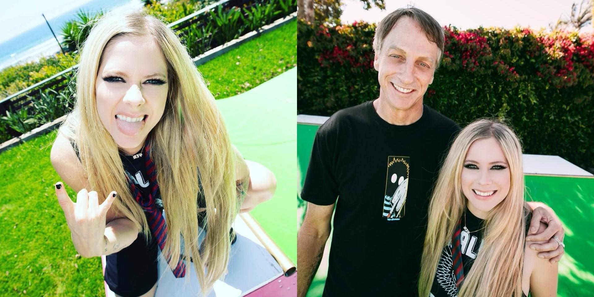 Avril Lavigne Joins Tik Tok