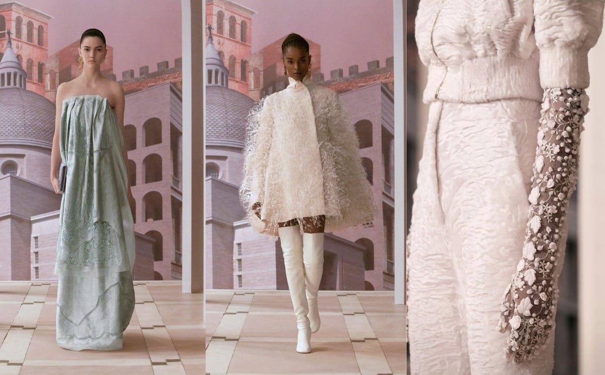 Fendi AW21: Famous Face and Boring Clothes